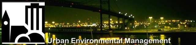 The GDRC Research Programme on Urban Environmental Management